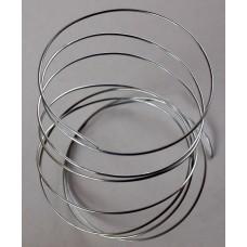 Armature /Bonzai Wire Rigid Durable Galvanised 1.5 - 2mm 1 Metre
