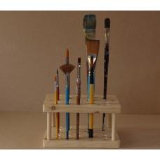 Artist's Paint Brush Holder / Stand